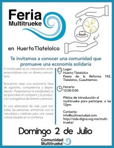 Feria Multitureke en Huerto Tlatelolco @ Huerto Tlatelolco | Ciudad de México | Ciudad de México | México